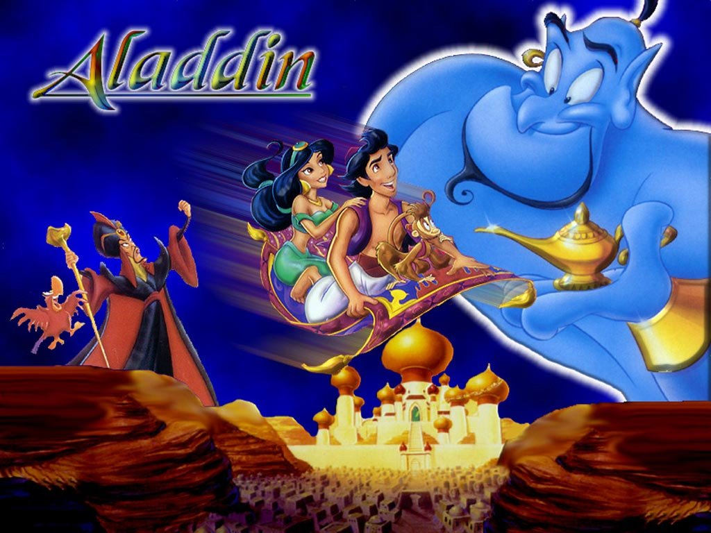 desktop wallpaper download cartoon collection aladin disney 1024x768