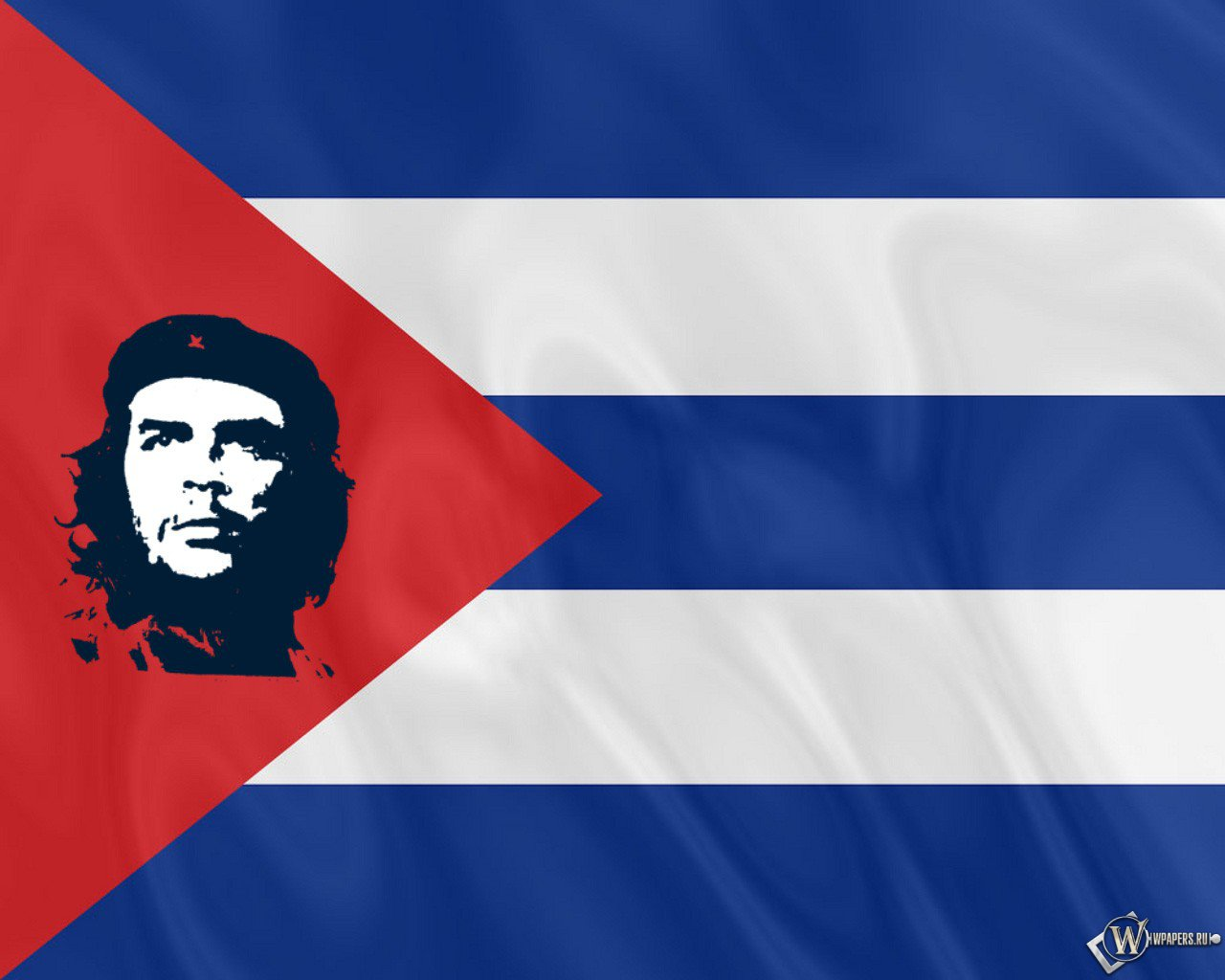 Flag of Cuba wallpapers pictures and photos for 1280x1024