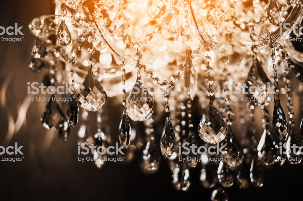Chrystal Chandelier Closeup Glamour Background With Copy Space 1024x682