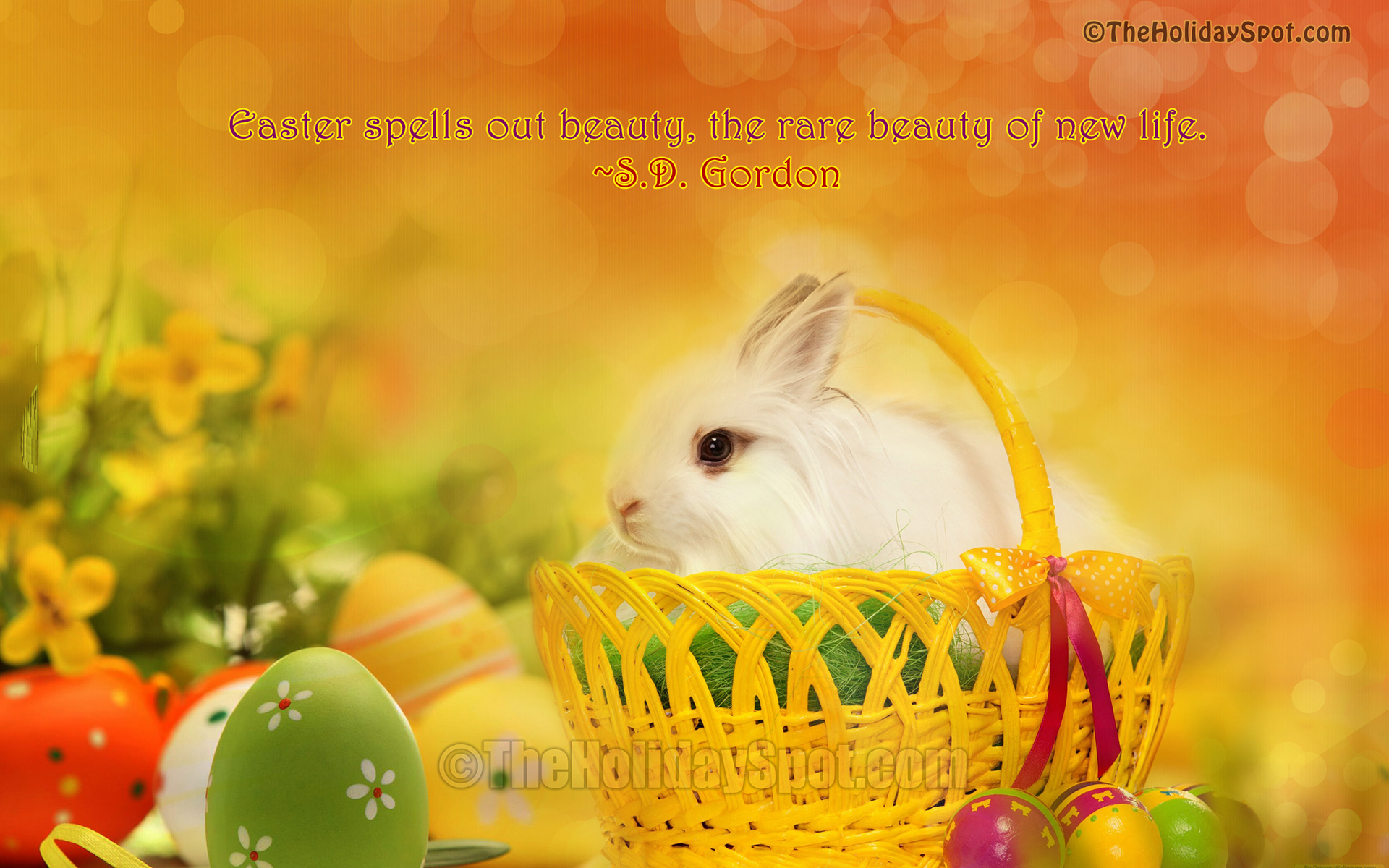 Easter wallpapers from TheHolidaySpot 1920x1200