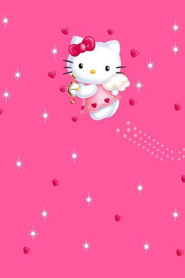 75+] Hello Kitty Pink Wallpaper on WallpaperSafari