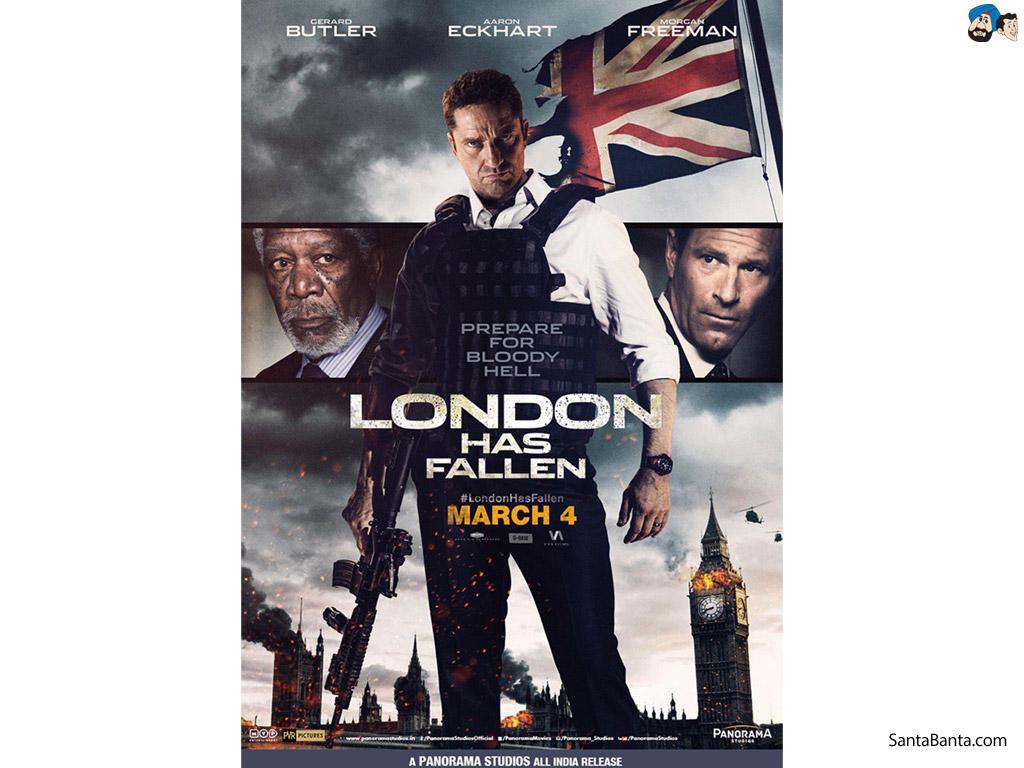London Has Fallen Movie Wallpaper 3 1024x768