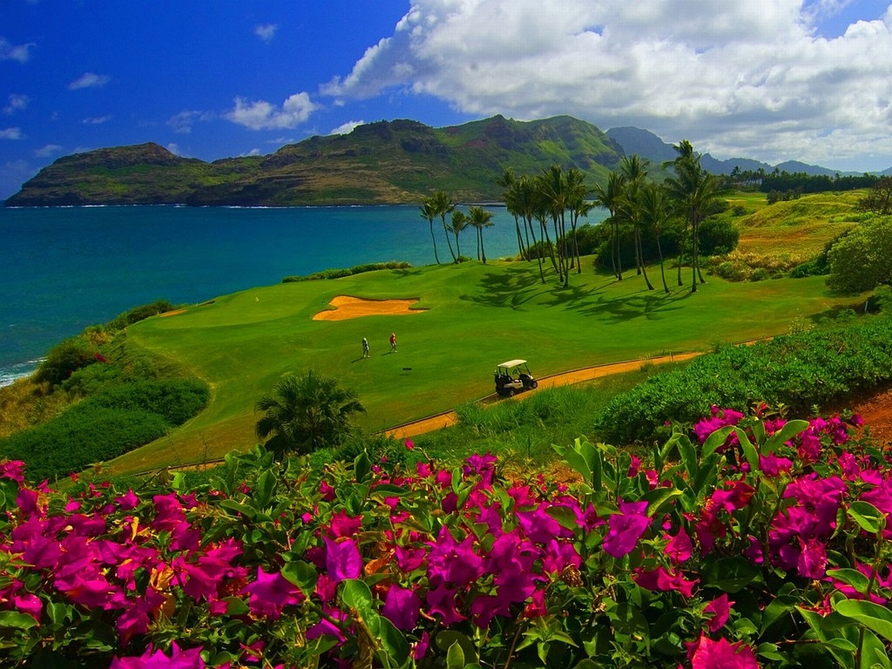15 Golf Course HD Wallpapers Backgrounds 1280x960
