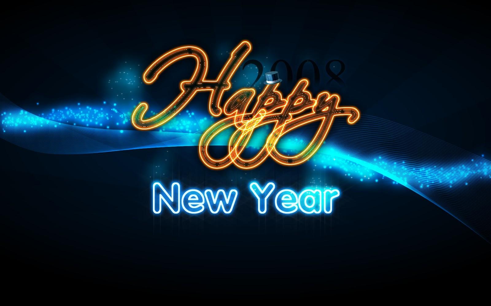 New Year Desktop Backgrounds 1600x1000