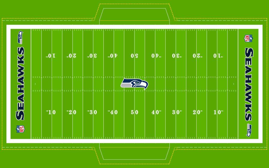 Football Field   SEAHAWKS by Superman8193 900x563