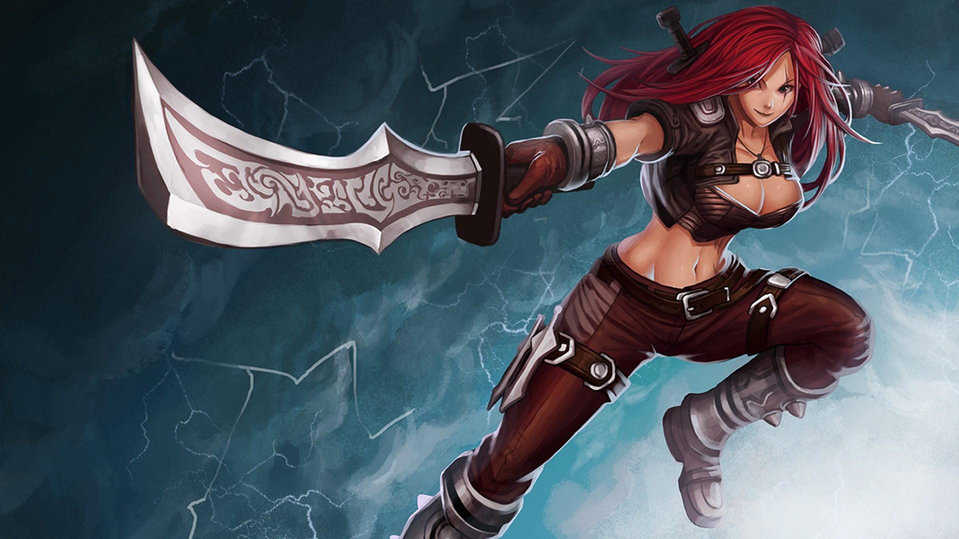 Free Download Katarina League Of Legends Game Lol Girl