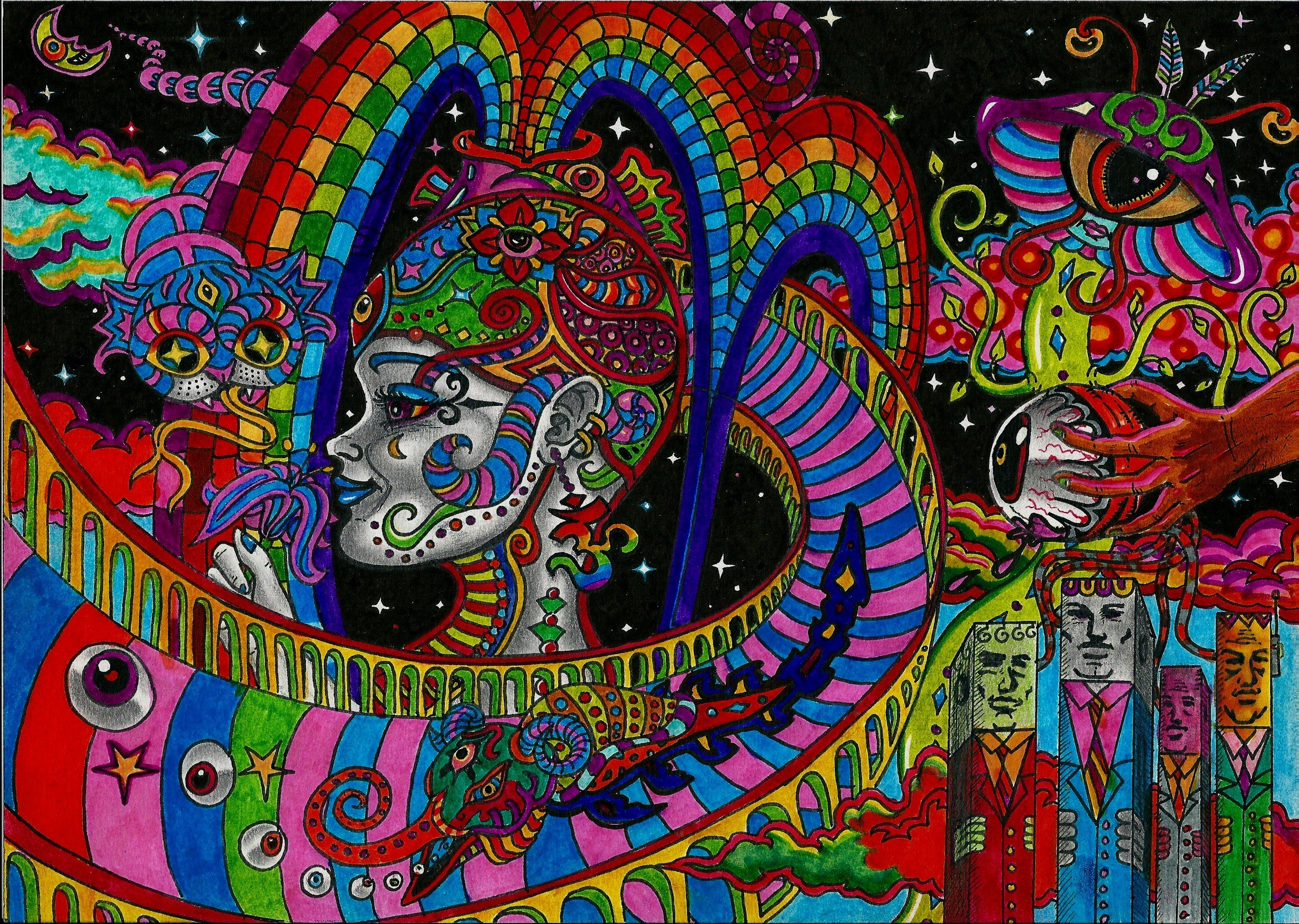 Download Acid Trip Background 2339x1664