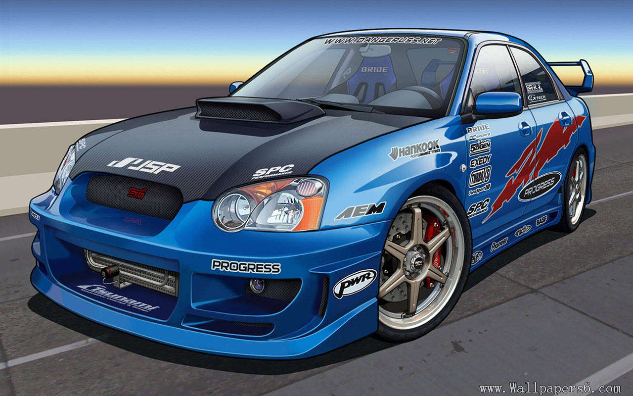 Impreza WRX Race Car Auto Wallpapers   download wallpapers 1280x800
