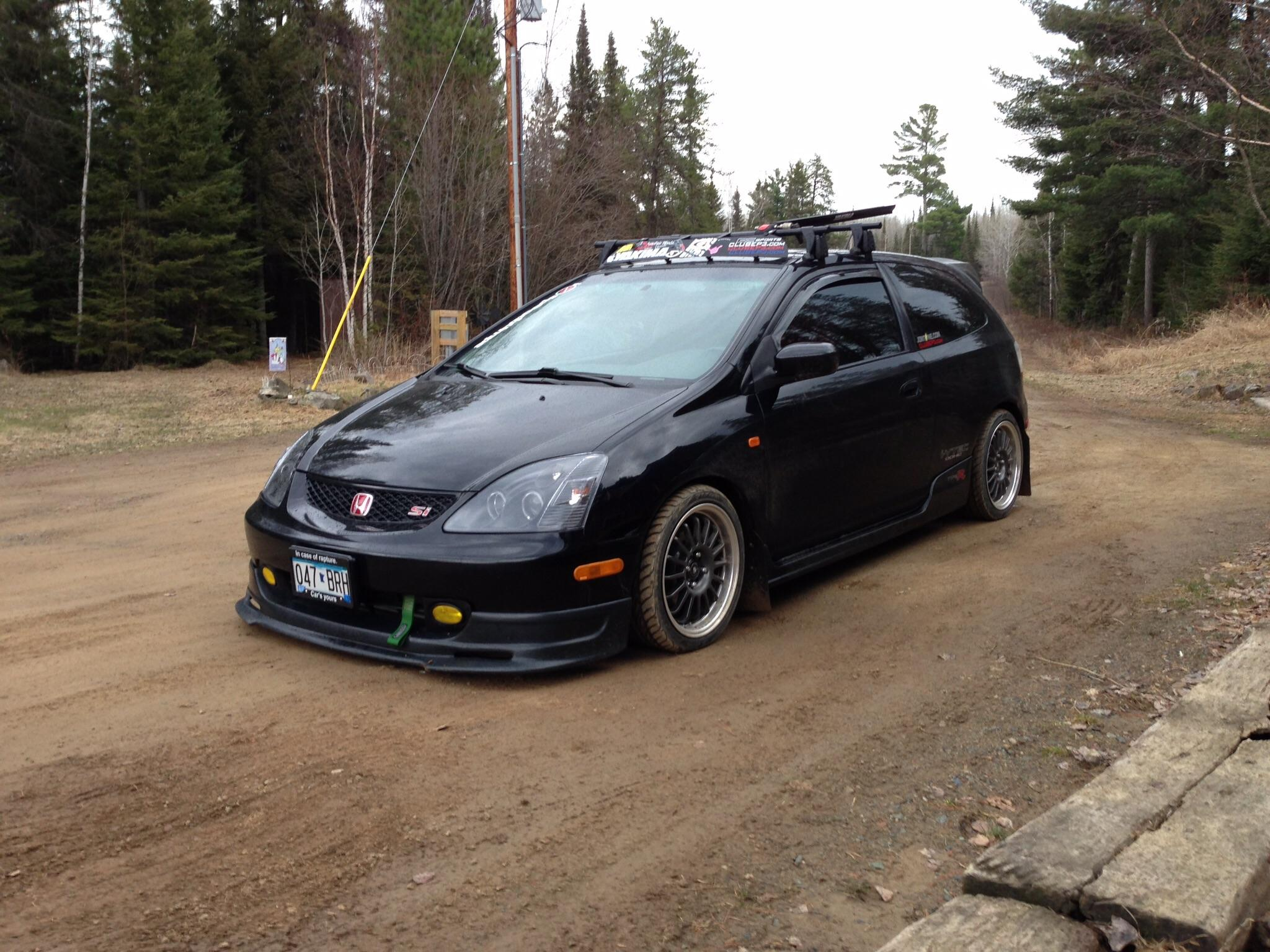 My ep3 currently undergoing k24 swap with Jackson racing 2048x1536