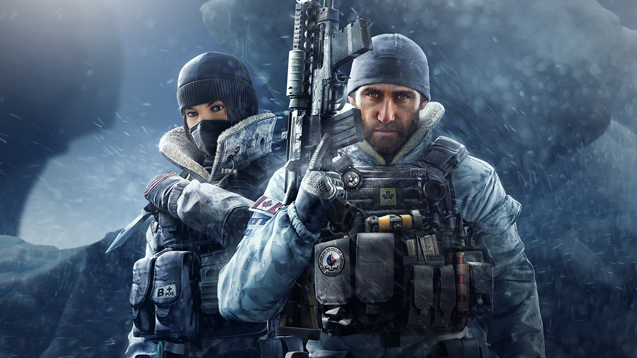 Wallpapers Tom Clancys Rainbow Six Siege Soldiers Assault 2048x1152 2048x1152