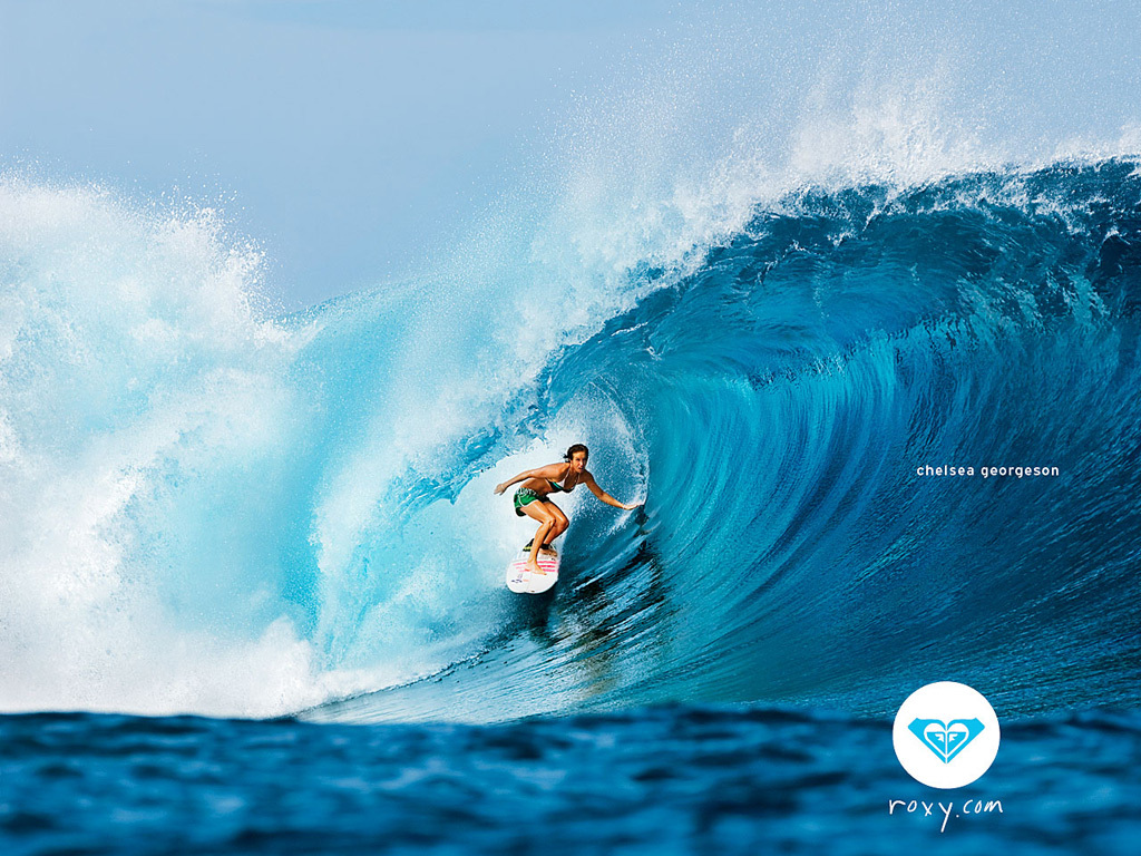 Roxy surfing   Roxy Wallpaper 921878 1024x768