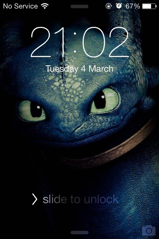 Toothless How to Train Your Dragon 2 Apple Lock Screen Fun Time 640x960