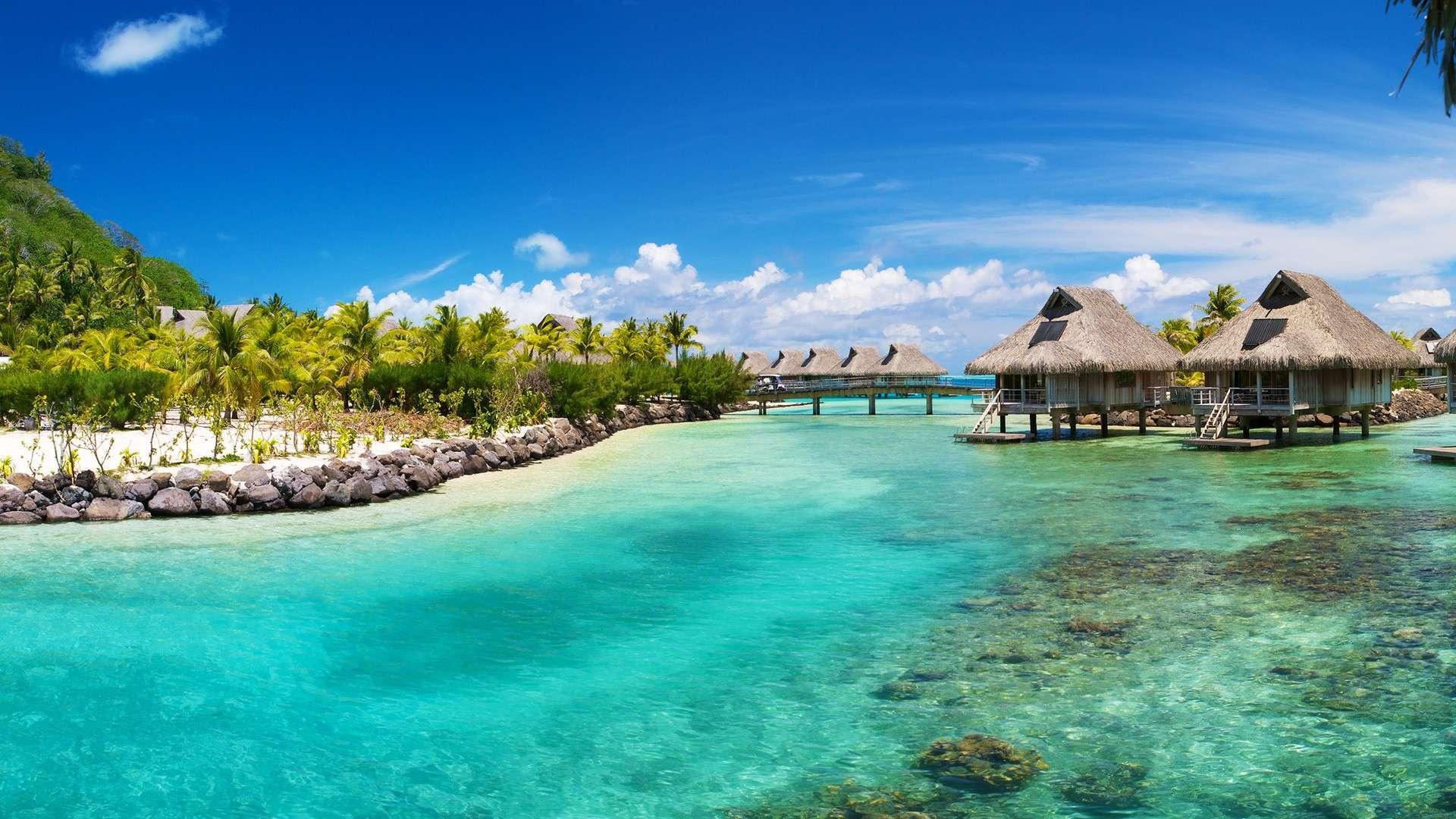 Tropical Island Desktop Wallpapers 1920x1080