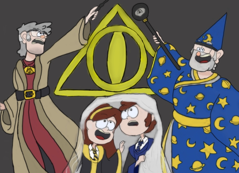 Gravity Falls images Dipper Pines adn the Deathly Ciphers Colored 839x609