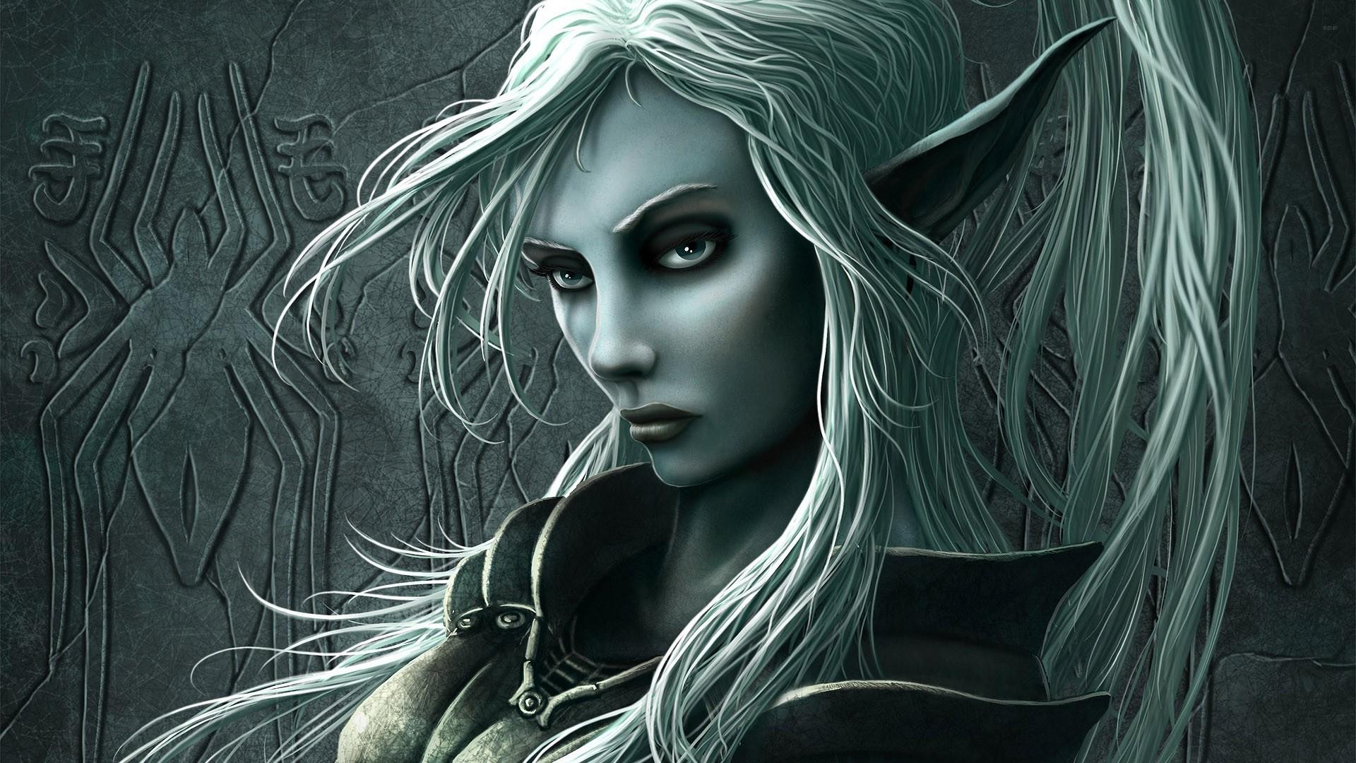 Elf woman wallpaper 15332 1920x1080