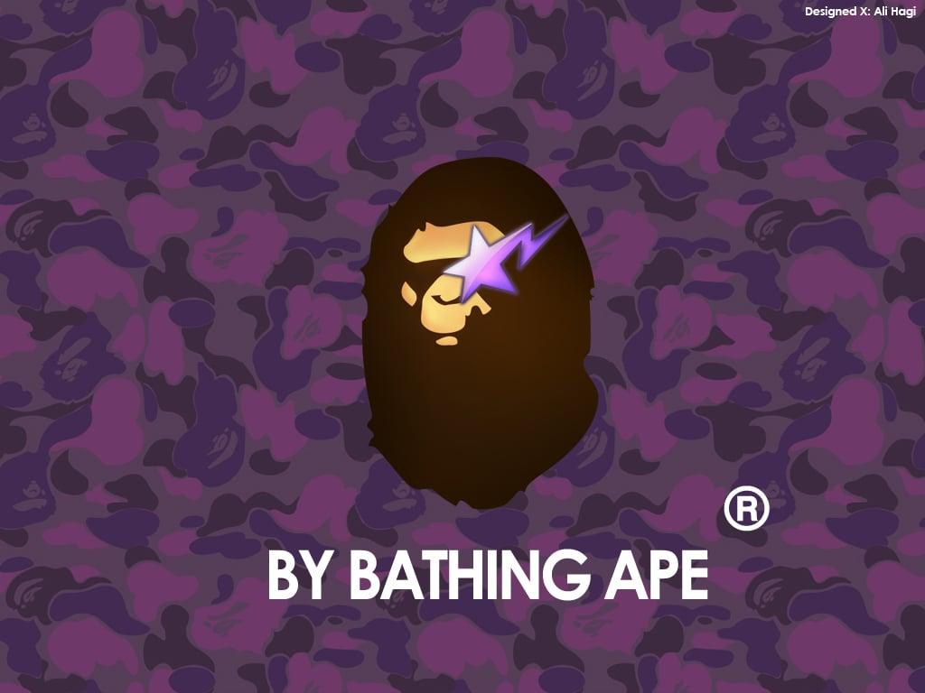 Purple Bape Camo Wallpaper Wallpapers Pictures 1024x768