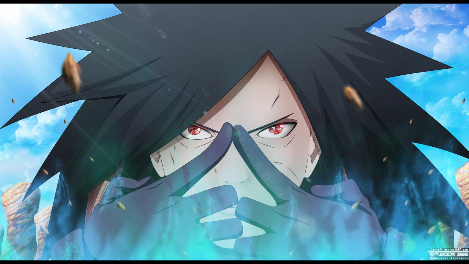 Uchiha Madara Technique Sharingan Male Anime HD Wallpaper Backgrounds 1600x900