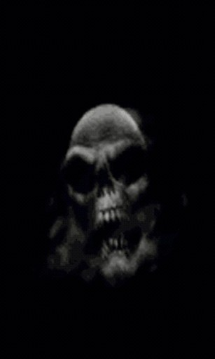 Download this puffing weed smoke skull live wallpaper Watch the 307x512