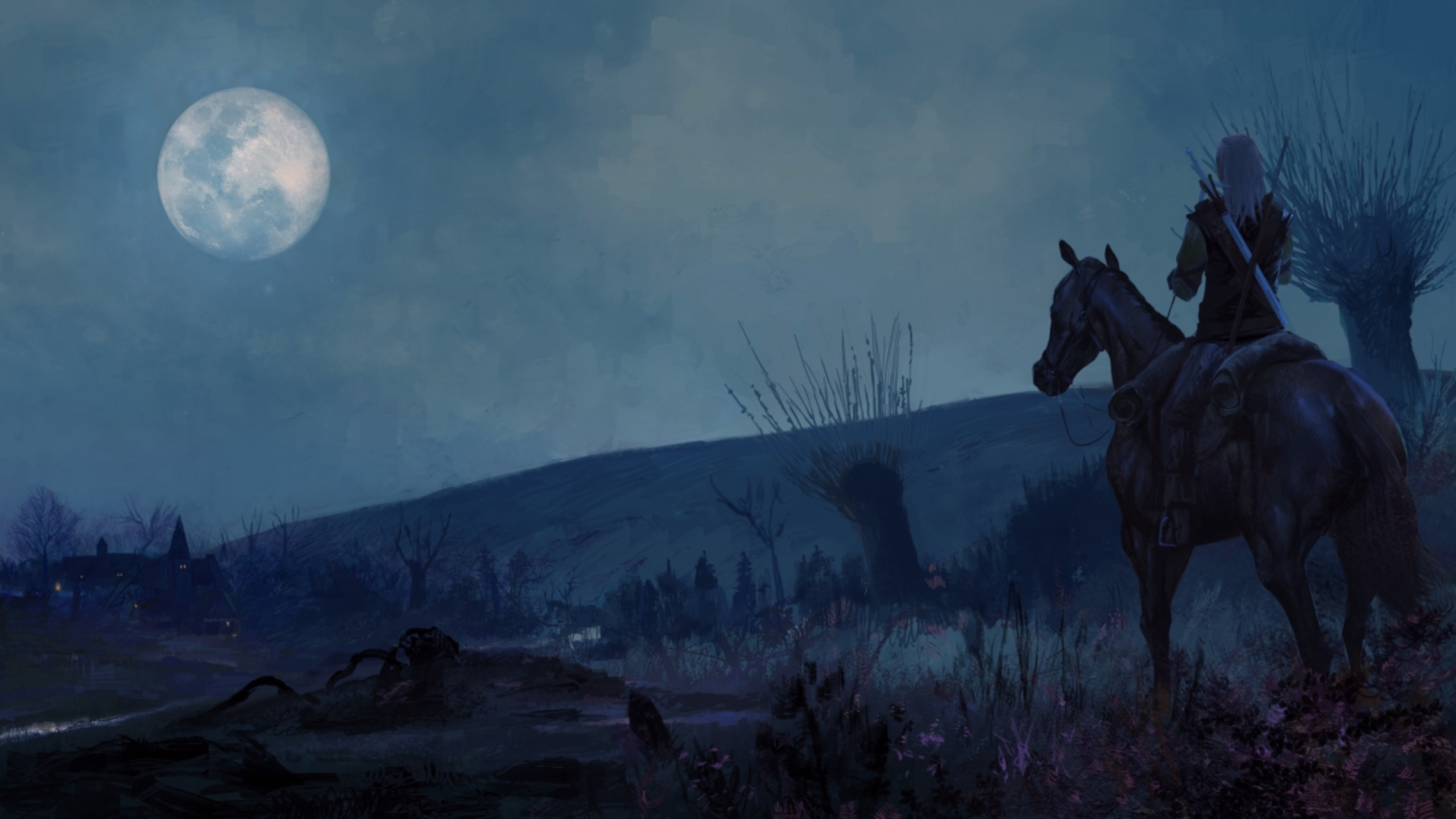 red moon witcher 3 - photo #25