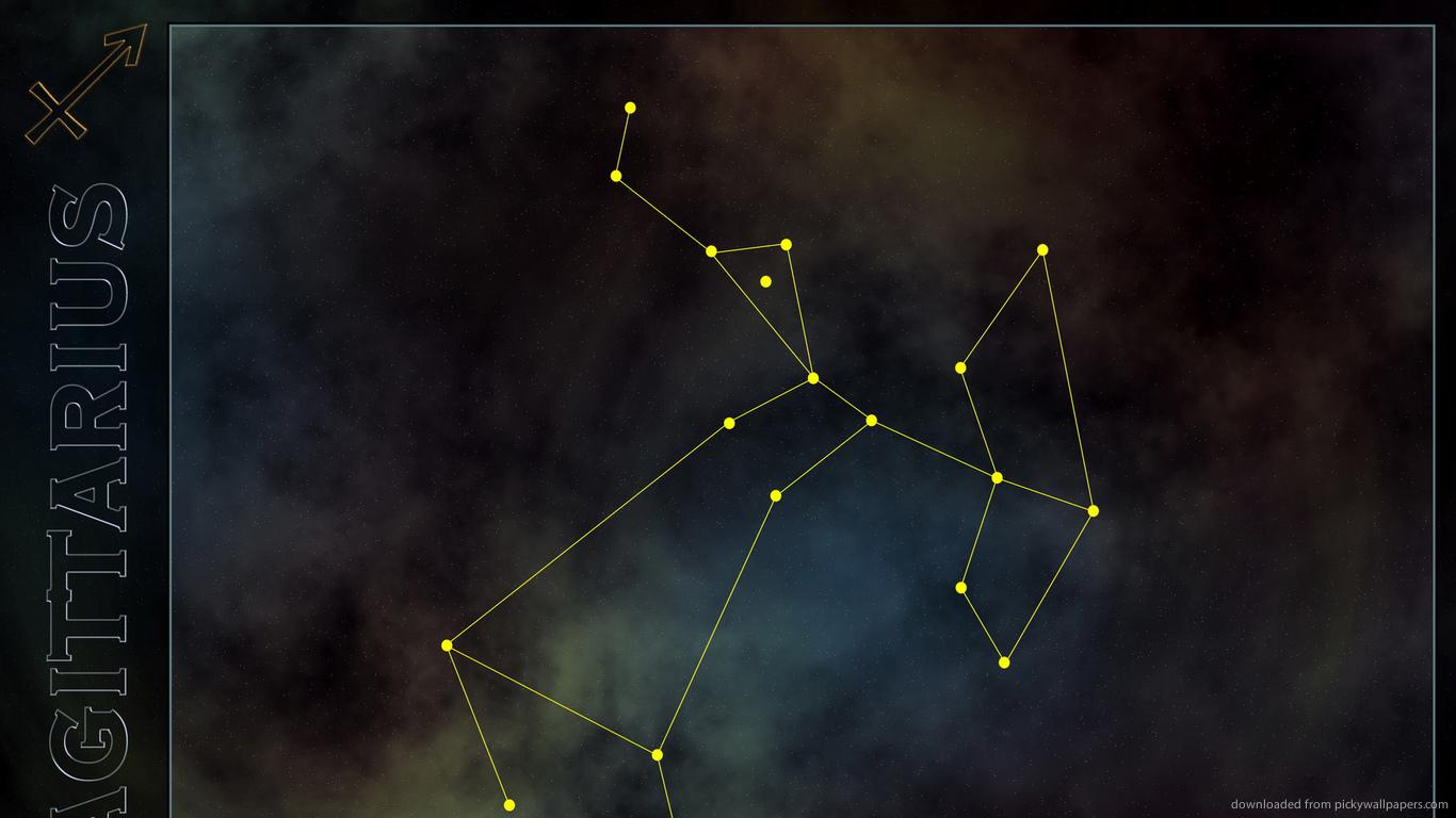 Download 1366x768 Sagittarius Constellation Wallpaper 1366x768