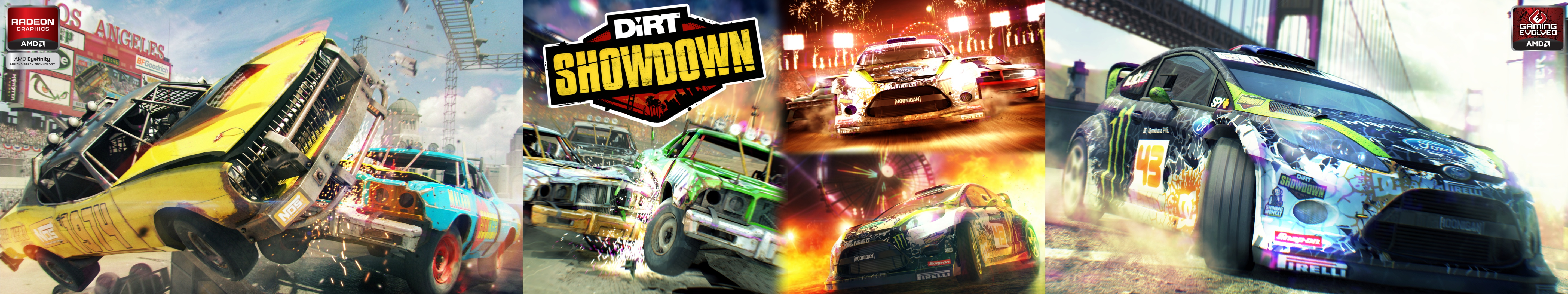 Dirt Showdown Triple Monitor Wallpapers Multi Monitor Gaming 5760x1080