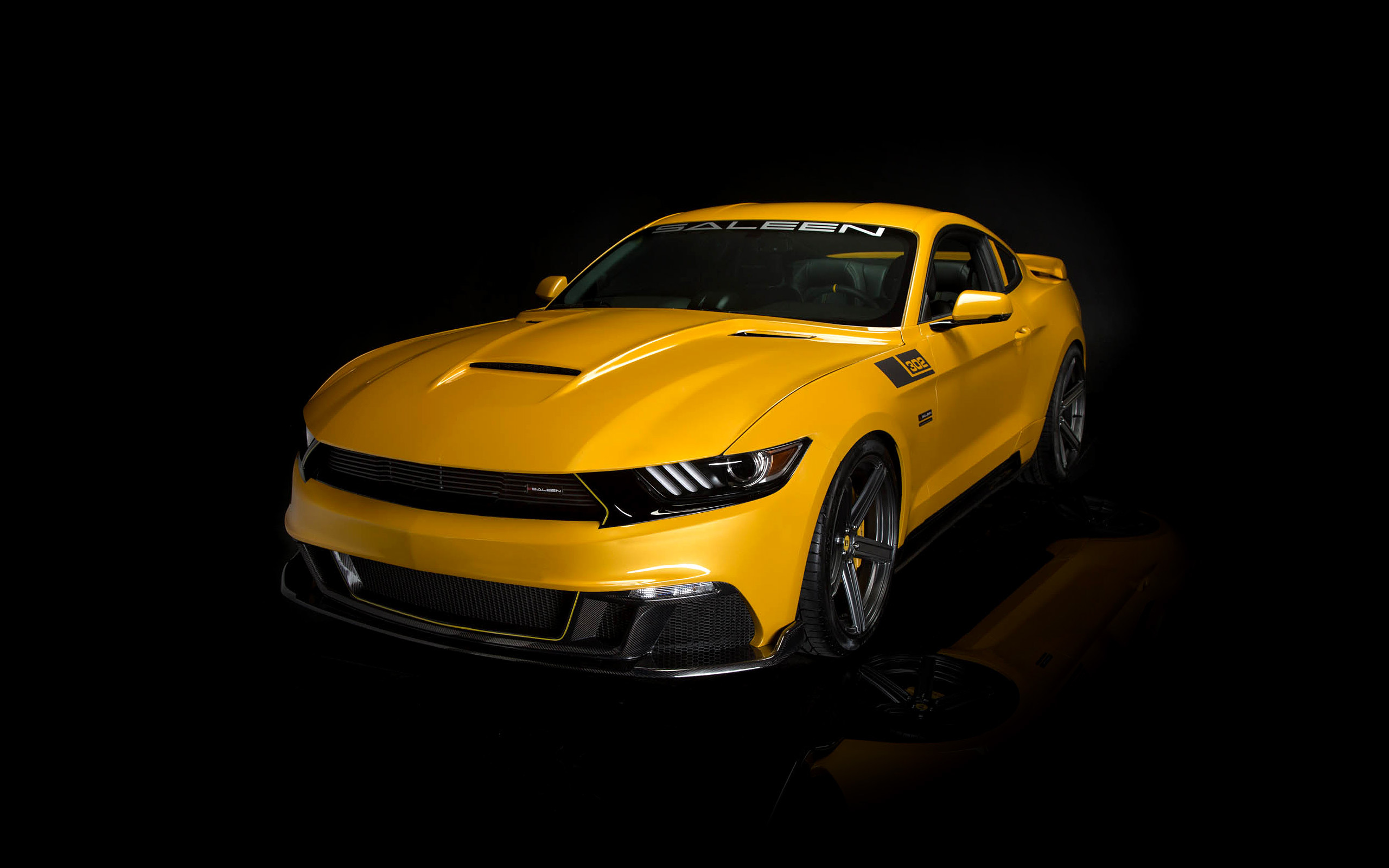 2015 Saleen Mustang S302 Black Label Wallpaper HD Car Wallpapers 2560x1600