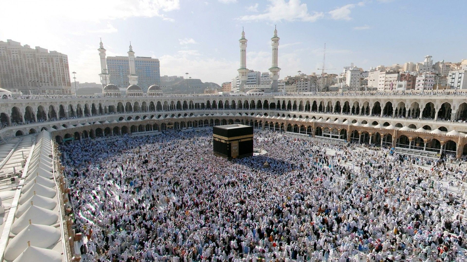 1920x1080 Full HD Wallpaper kaaba mecca mosque wonder Desktop 1920x1080
