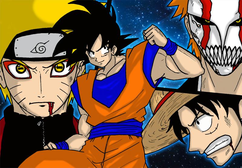 Goku Naruto 800x554