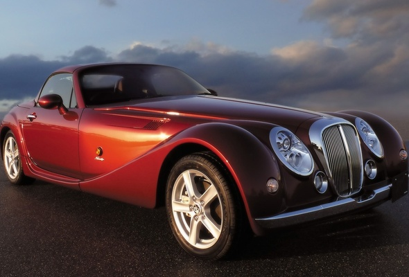 Wallpaper mitsuoka himiko Japan brand classic cars luxury desktop 590x400