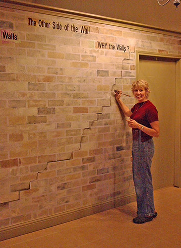 carolhawkinscomThis brick wall is a total 365x500