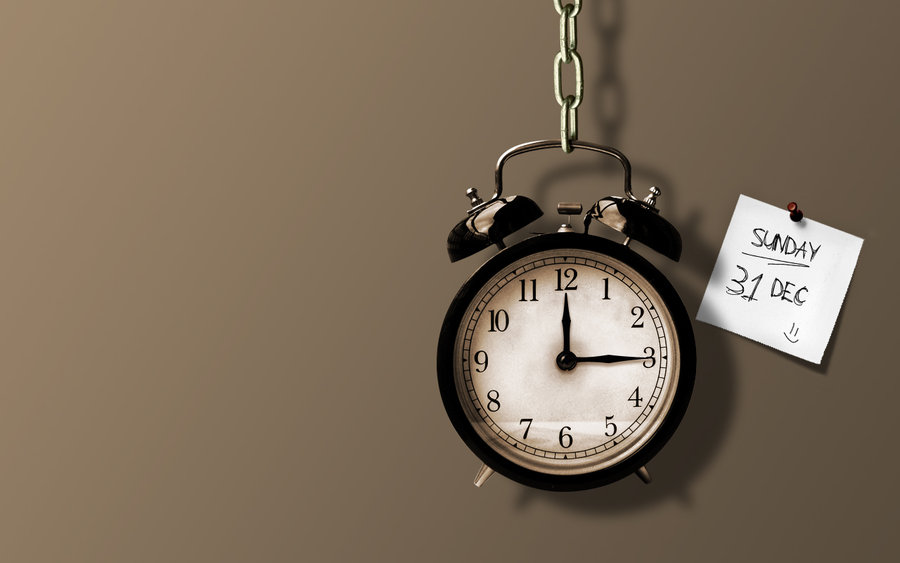 Desktop Clock Wallpaper