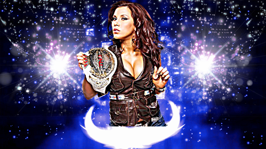 TNA Mickie James Background No Logo by MrAwesomeWWE 900x506