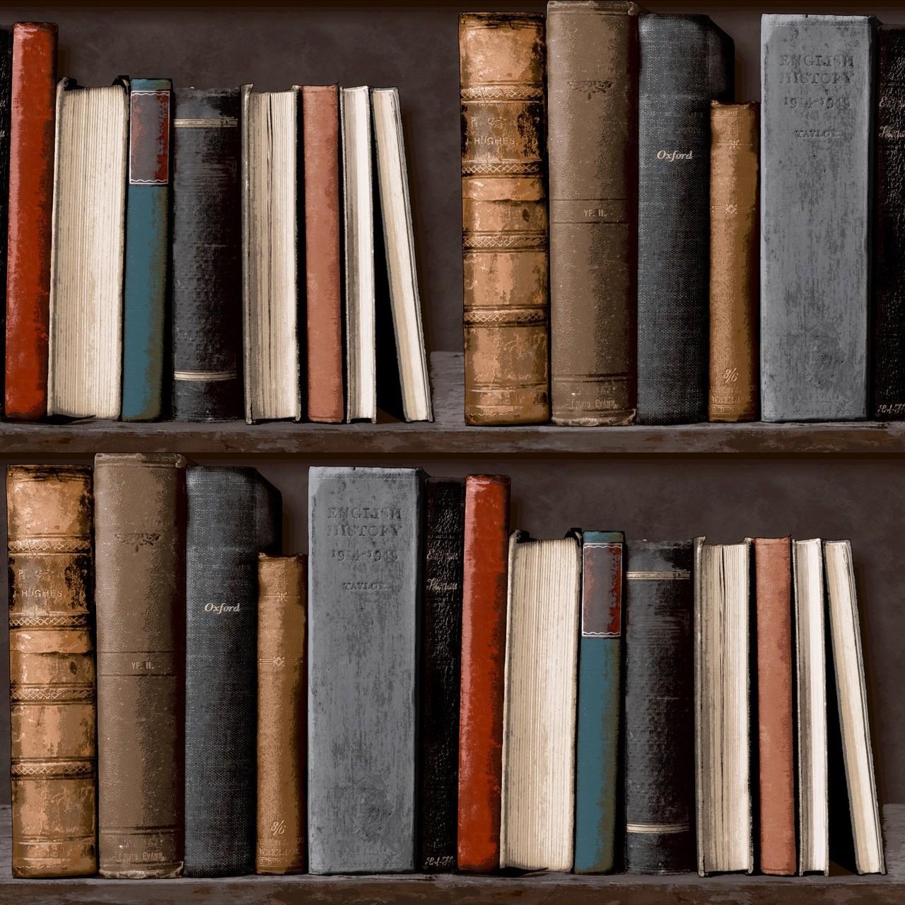 43 Library Bookshelf Wallpaper On Wallpapersafari
