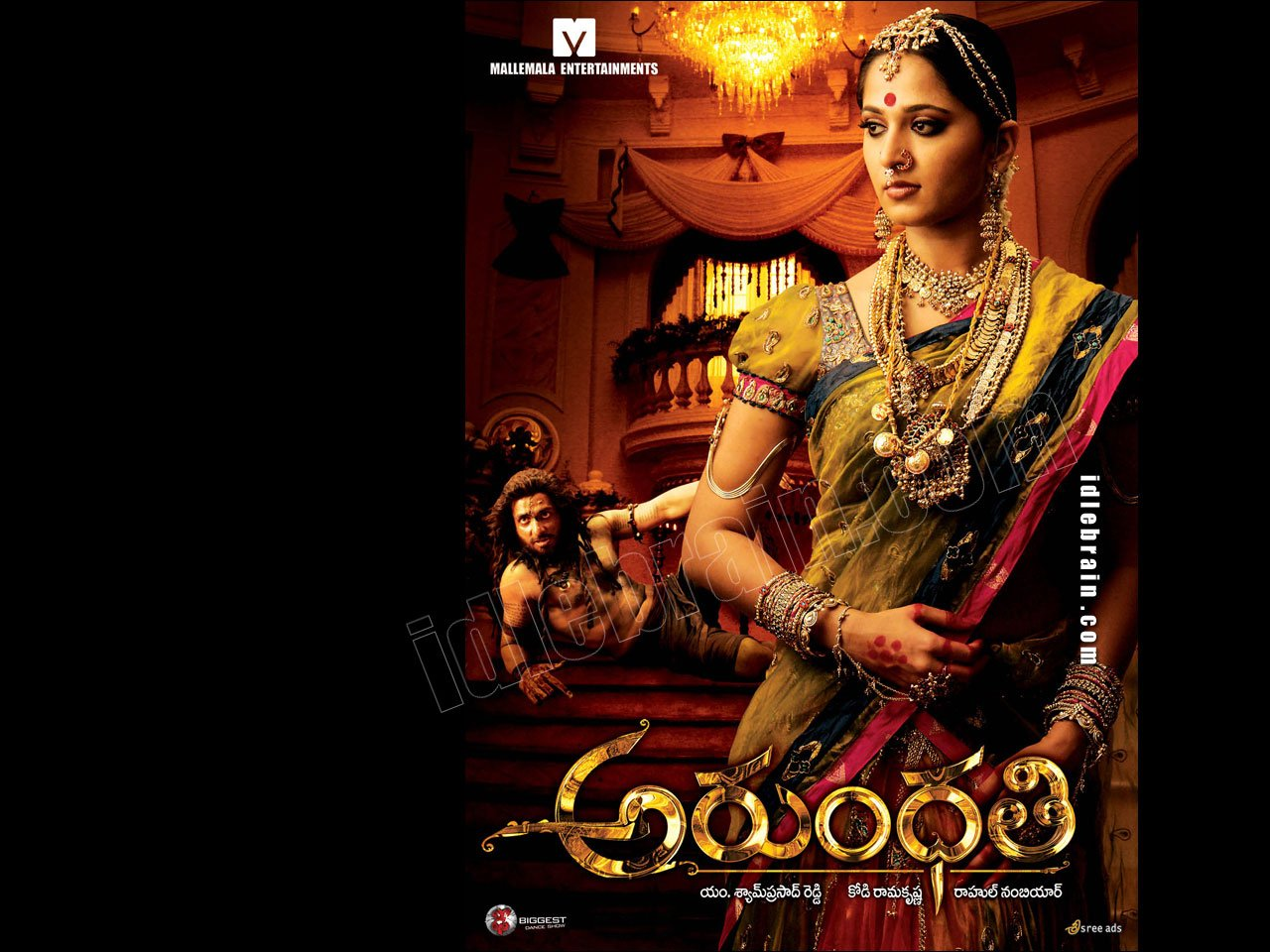Arundhati   Telugu film wallpapers   Telugu cinema   Anushka 1280x960