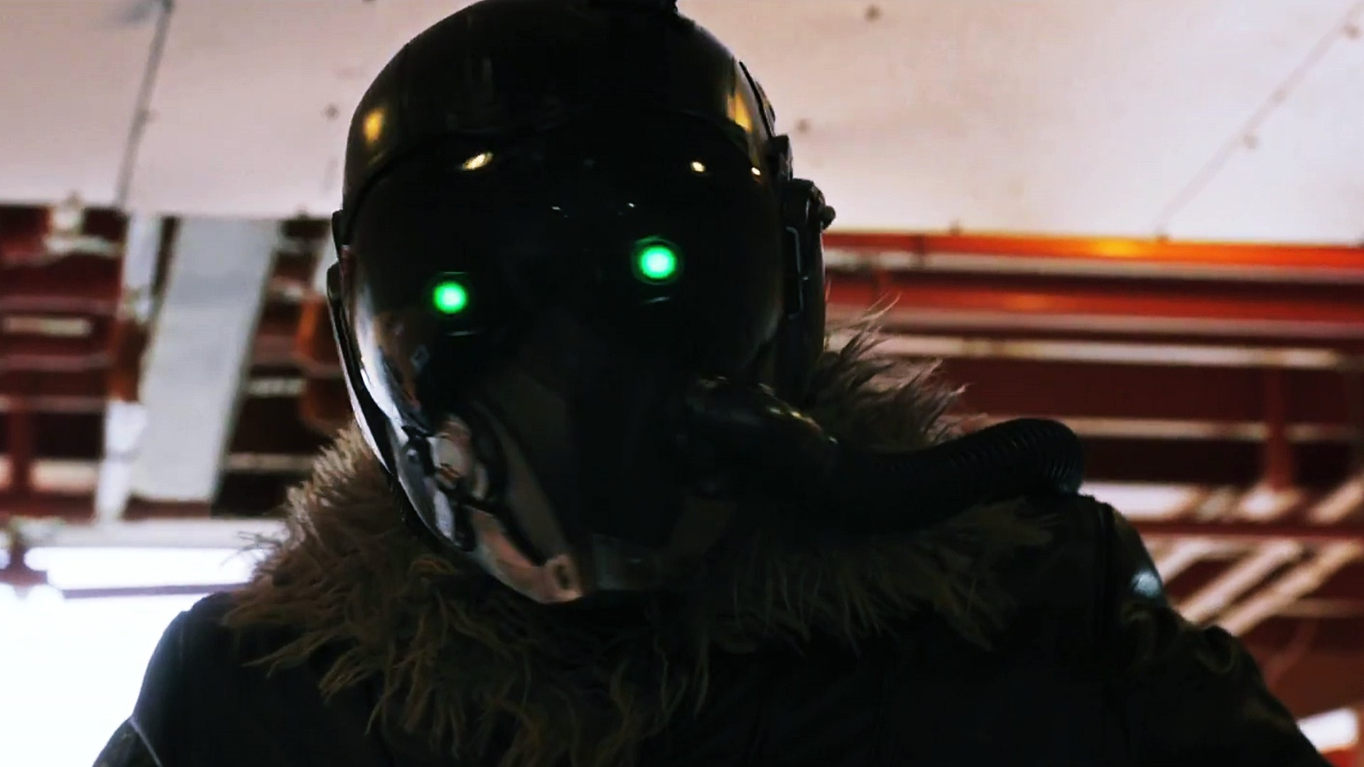 Download Original Resolution   Spiderman Homecoming Vulture Mask 1920x1080