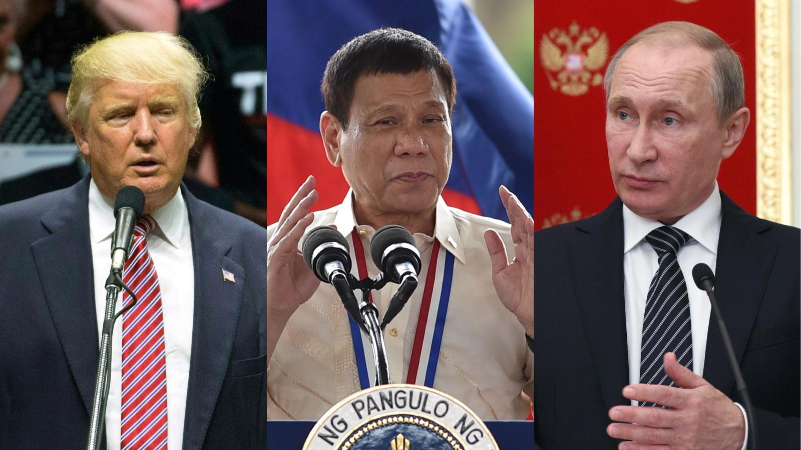 Trump Putin or Duterte Can you pick which politician said what 1600x900