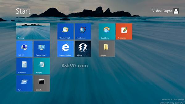 How to Set Desktop Wallpaper as Start Screen Background in Windows 81 600x337