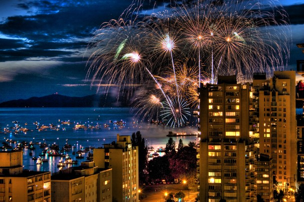 Vancouver Fireworks   Traveler Photo Contest 2012   National 608x405