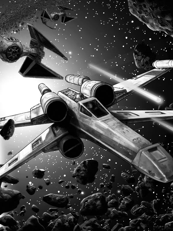 Kindle screensavers Wedge Antilles Rogue Squadron Star Wars The 600x800
