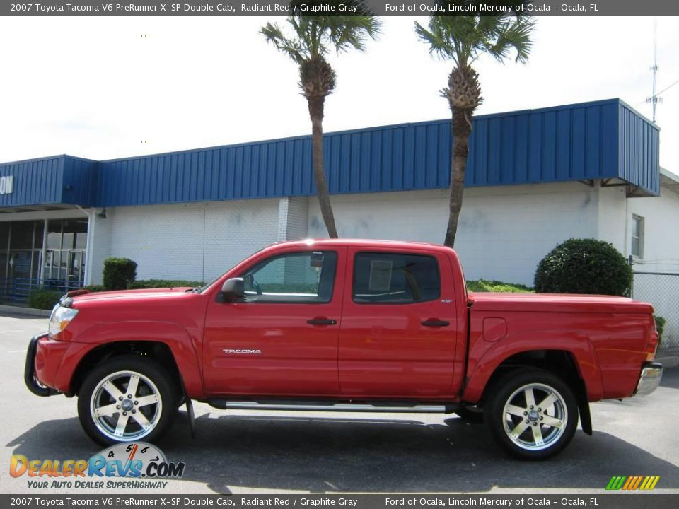 2007 Toyota Tacoma V6 PreRunner X SP Double Cab Radiant Red Graphite 960x720