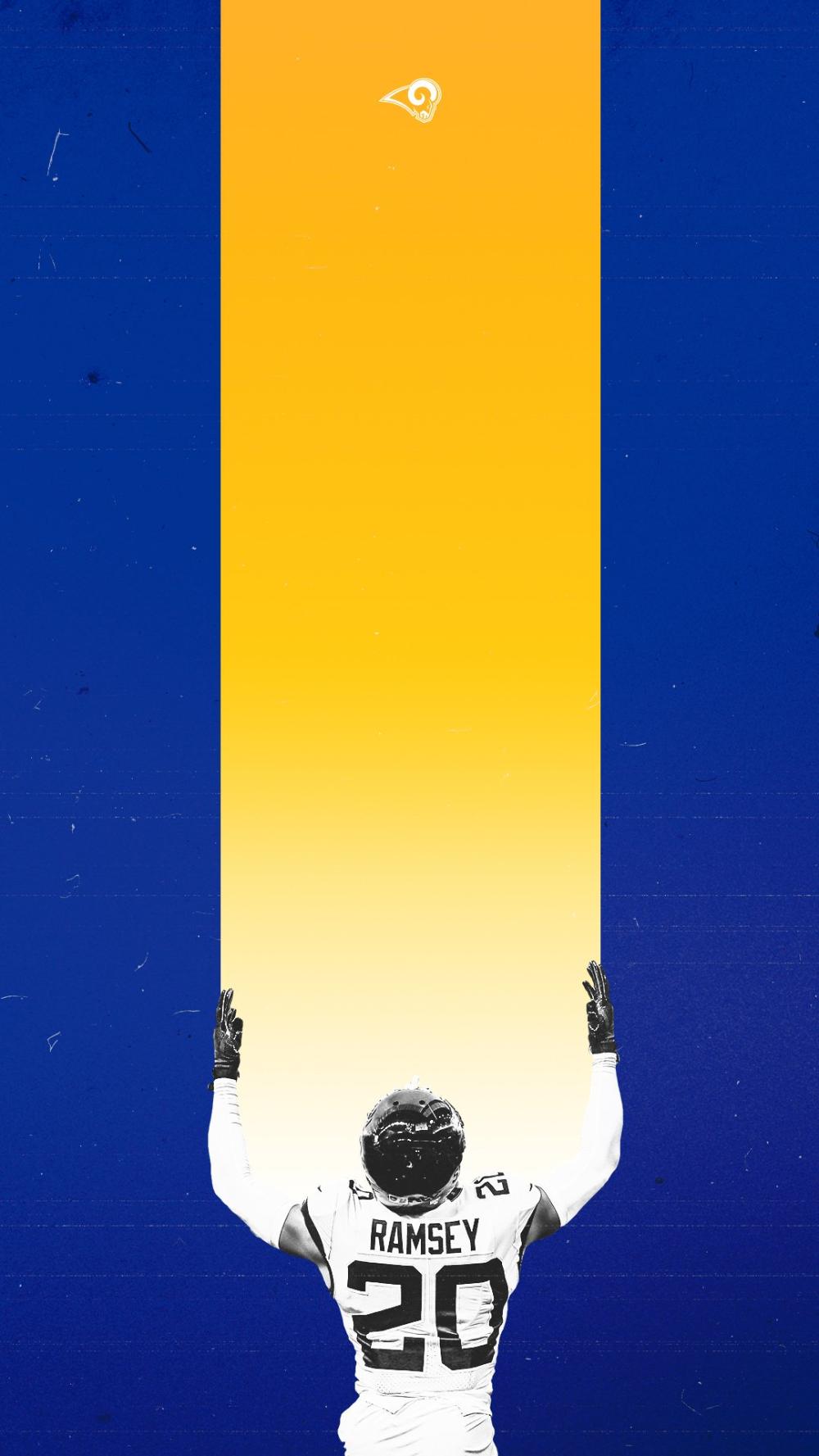 Los Angeles Rams on Twitter Nfl football wallpaper Ram 1000x1777