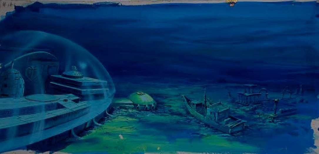 Cobra Base Pan Cel Background From GI Joe Spell of the Siren in 1085x525