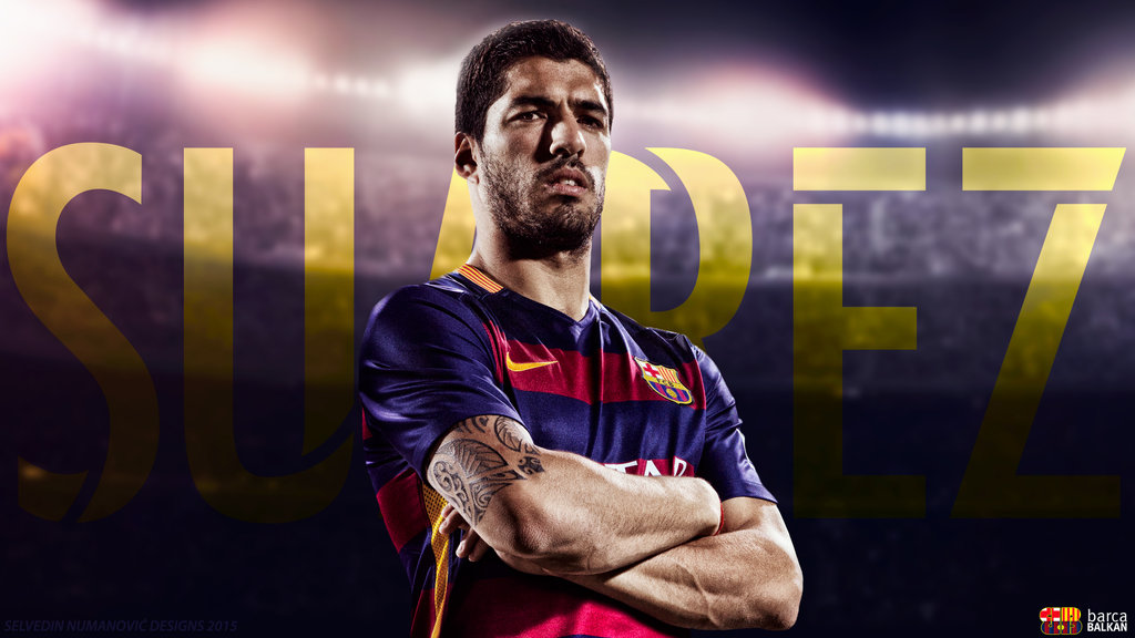 Luis Suarez   FC Barcelona 2015 HD WALLPAPER by SelvedinFCB on 1024x576