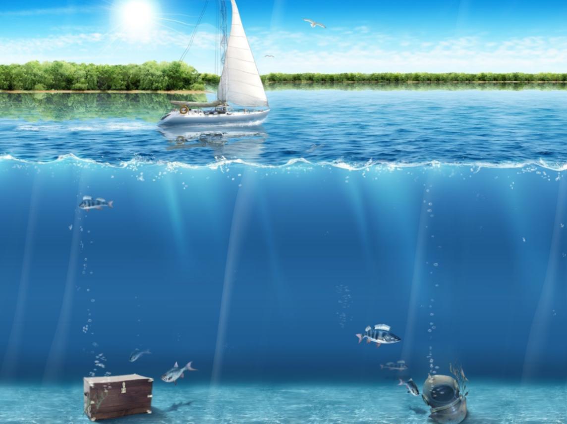 Beauty Of Ocean Animated Wallpaper   Themes Wallpaper Desktop 1144x856