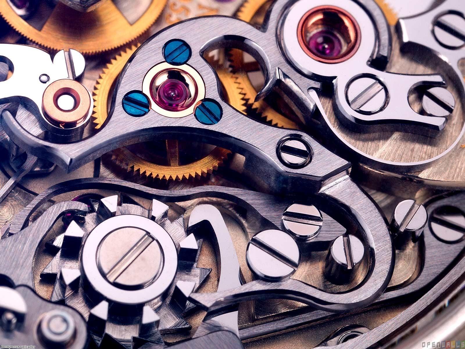 Mechanism Clock Wallpaper 00458   Baltana 1600x1200