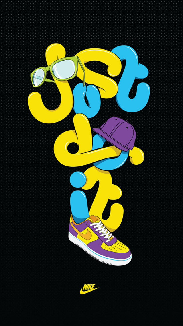 Just do it wallpaper phone wallpapersafari wallpaper nike just do it photos of nike iphone wallpaper by hd 640x1136 voltagebd Images
