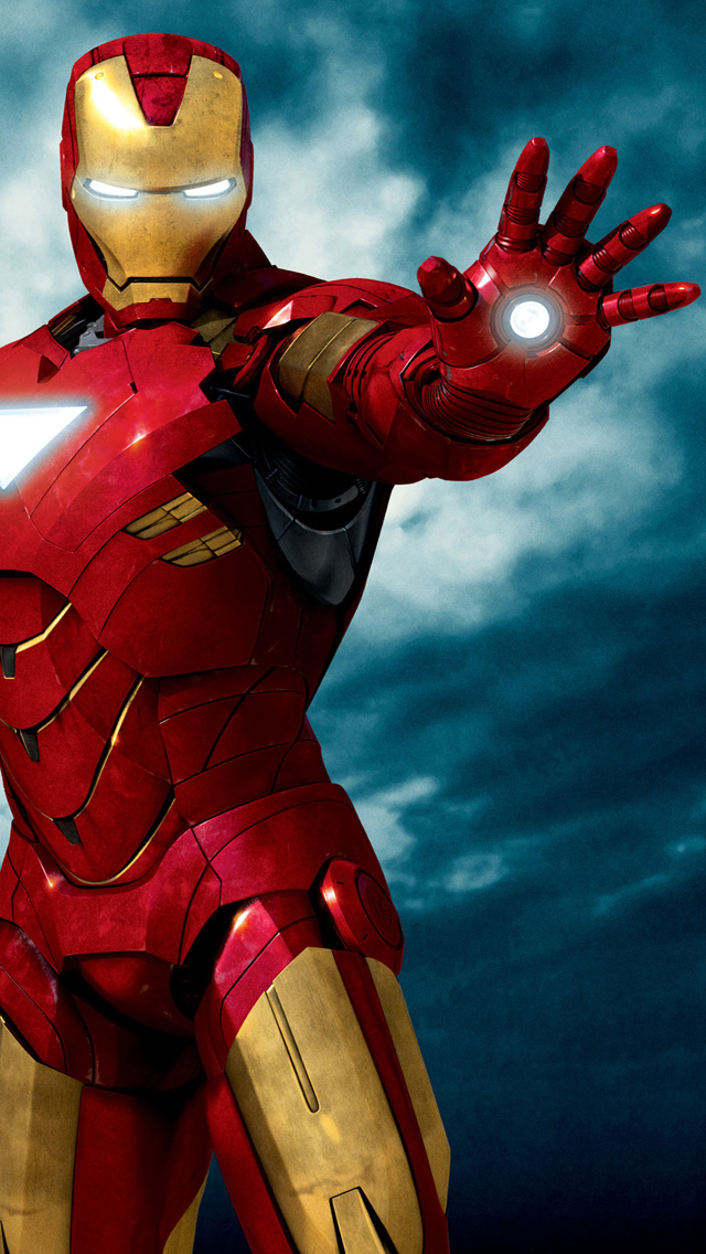 Iron Man 3 HD Wallpapers for iPhone 5 Download Iron Man Ready To 640x1136