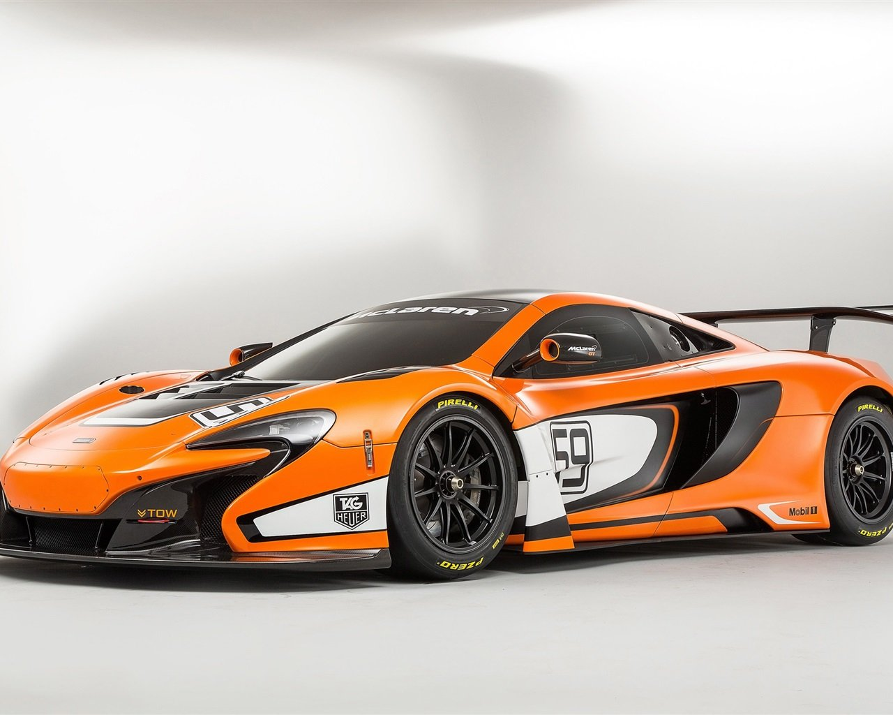 650S GT3 orange supercar Wallpaper 1280x1024 resolution wallpaper 1280x1024