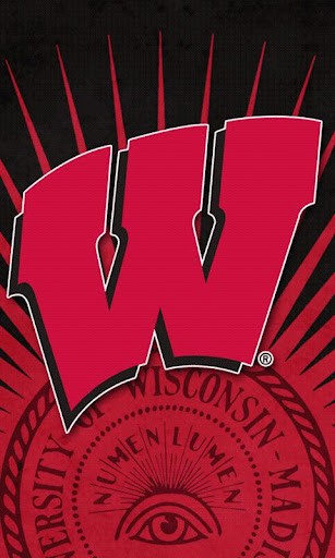 Wisconsin Badgers LWP B App for Android 307x512