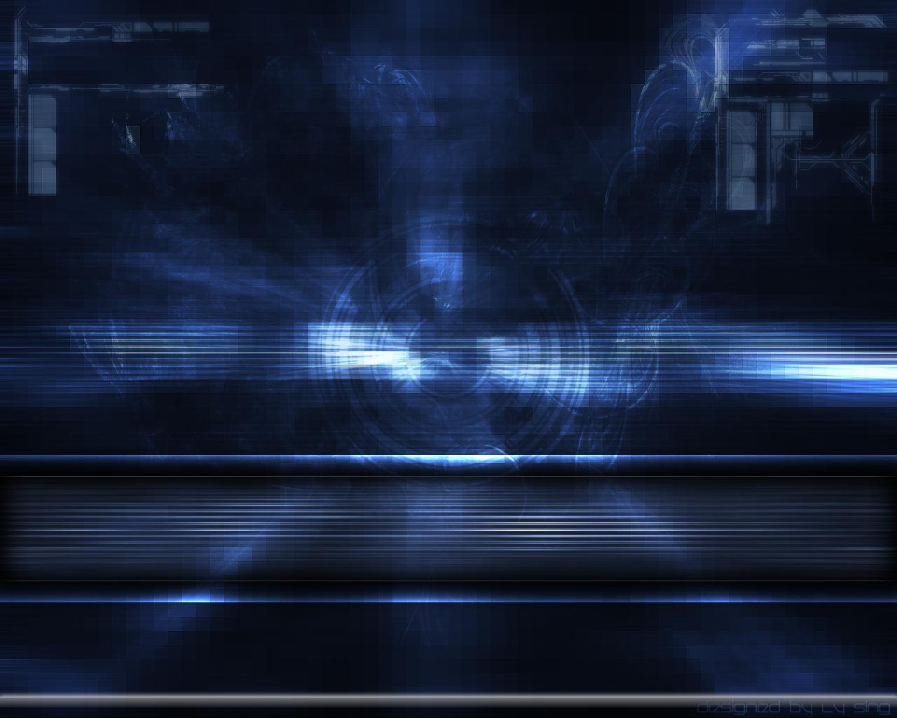 Blue Techno Wallpaper - WallpaperSafari